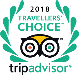 Winnaar van de Travelers' Choice award