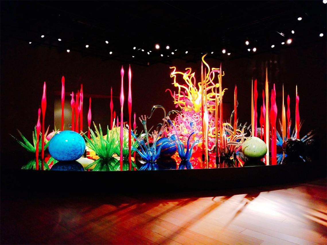 富山市 ガラス美術館