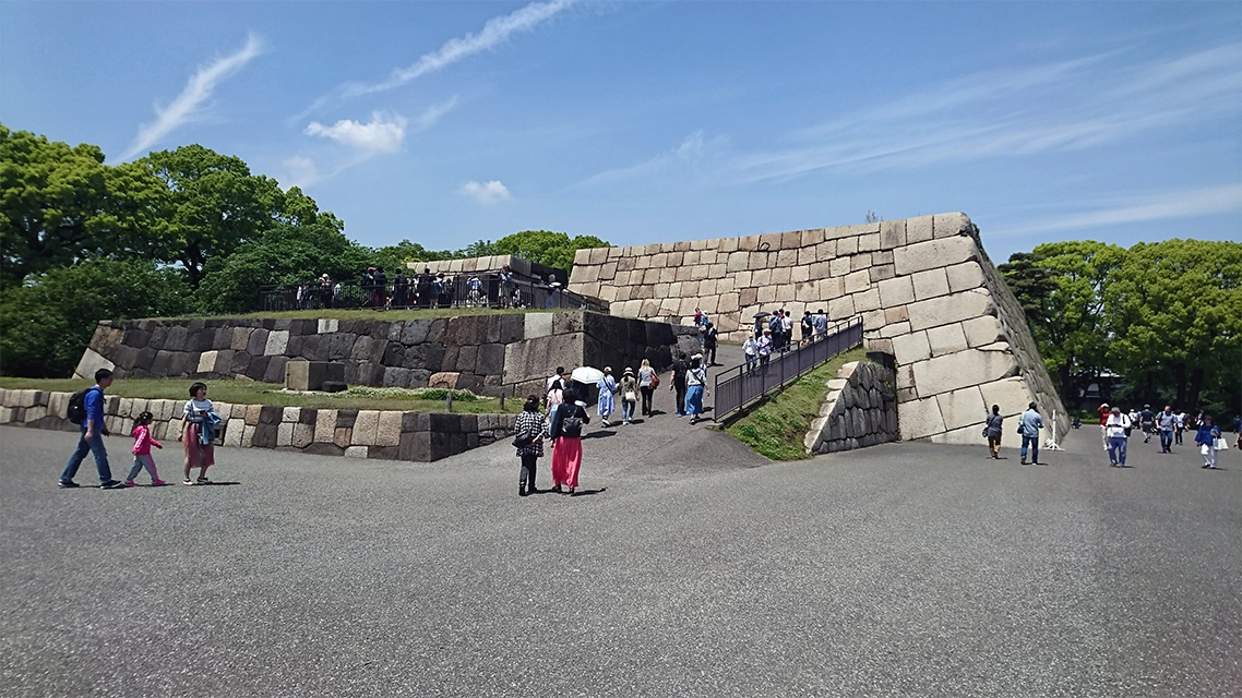 皇居東御苑(旧江戸城本丸跡)